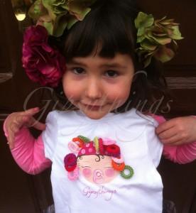 camisetas pintadas infantiles