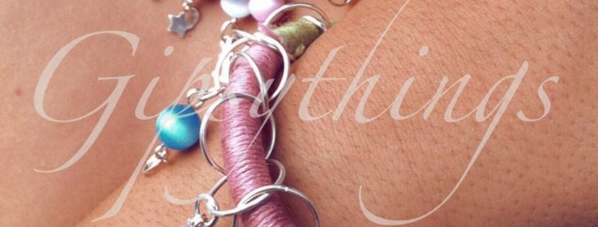 collar y pulsera linen thread